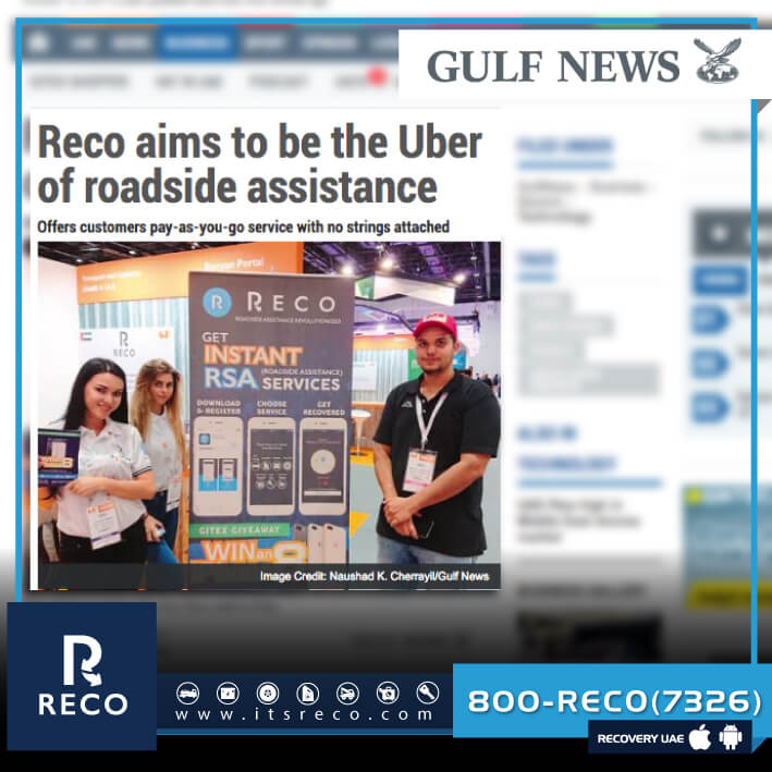 Reco App Featured in GITEX on Gulf News